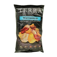 Terra Real Vegetable Chips Mediterranean Herbs & A Hint Of Lemon 170g