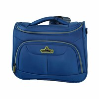 Track Vanity Soft Hand Bag Size 12 Inch Blue