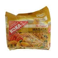 Koka Oriental Instant Noodles Masala Flavour 85g x5