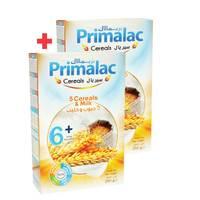 BUY 1 + 1 FREE Primalac Cereals - 5 Cereals & Milk 250g