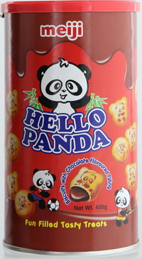 Hello Panda Biscuits with Chocolate Filling 400g
