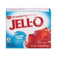 Jello Gelatin Dessert Strawberry Sugar Free 85GR