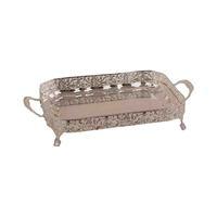 Al Maseela Tray Rectangular Silver