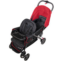 Safety 1st Duodeal Tandem Stroller Plain Red