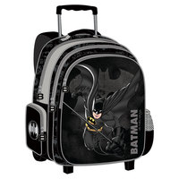 "Bat Man Trolley Bag 18"" Bk"