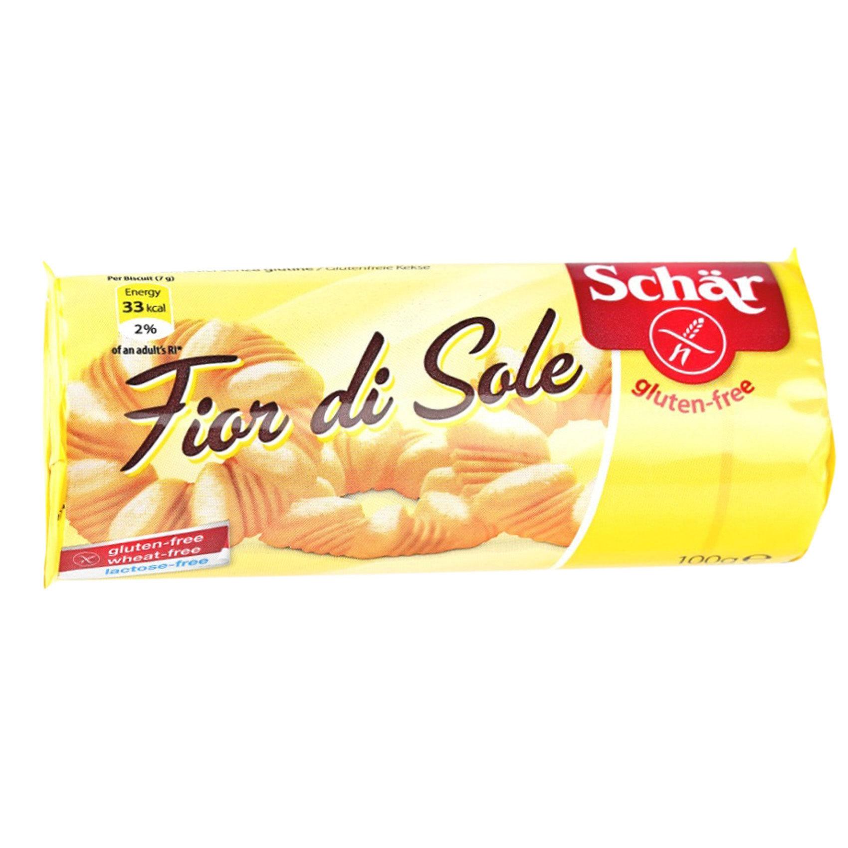 SCHAR GLUTEN F.  SOLE BISCUITS 100G