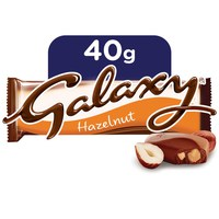 Galaxy® Hazelnut Chocolate Bar 40g