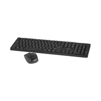 CROWNMICRO Keyboard And Mouse Combo Wireless CMMK-954W Black