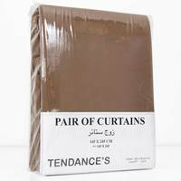 Tendance's Curtain Pair Mid Beige 145X245