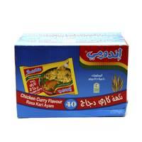 إندومي نكهة الدجاج بالكاري 75 جرام × 40