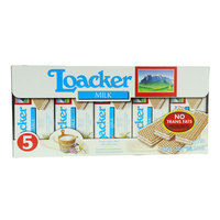 Loacker Milk Crispy Wafers Filled with Milk Cream 225g