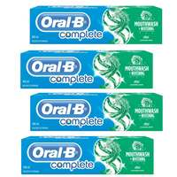 Oral B Complete Natural Fresh MInt Toothpaste 100mlx4