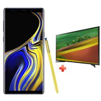 "Samsung Galaxy Note 9 (SM-N960FZ) Dual Sim 4G 128GB Blue + Samsung 32"" LED TV"