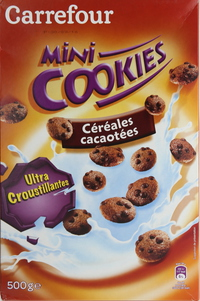Carrefour Cereal Mini Cookies 500g