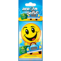 Areon Air Freshener Smile Dry Fresh Air Cardbaord