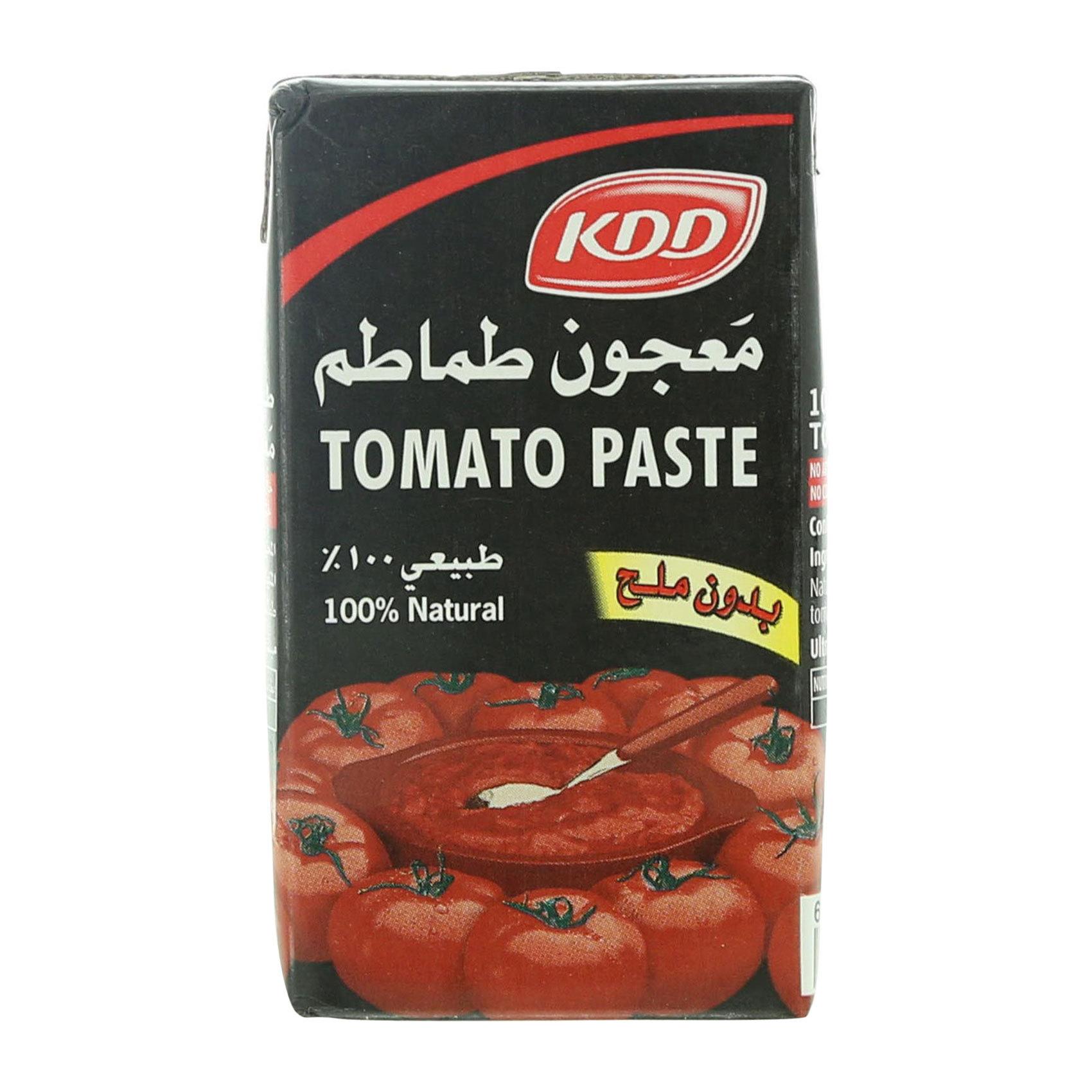 KDD TOMATO PASTE 135GR