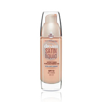 Maybelline Foundation Dream Satin Fawn No 040 + Brush Free