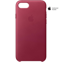 Apple Iphone 7 Leather Case Berry