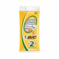 Bic 2 Sensitive Razors Pack Of 5