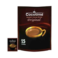 Cocotime Cocoa Sachets 25 Pieces