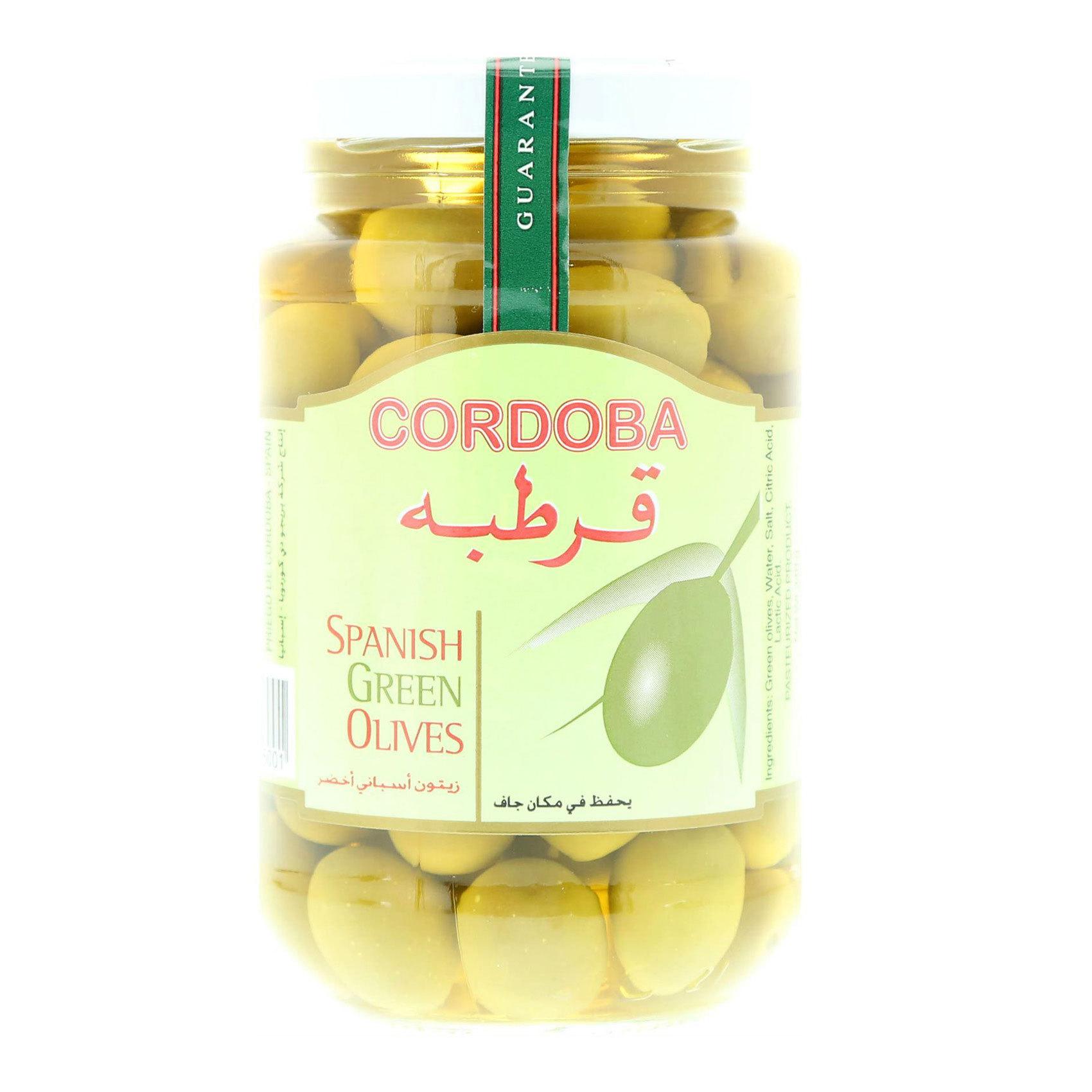 CORDOBA PLAIN GREEN OLIVES 340G