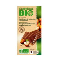 Carrefour Milk Chocolate With Hazelnut 100GR X3