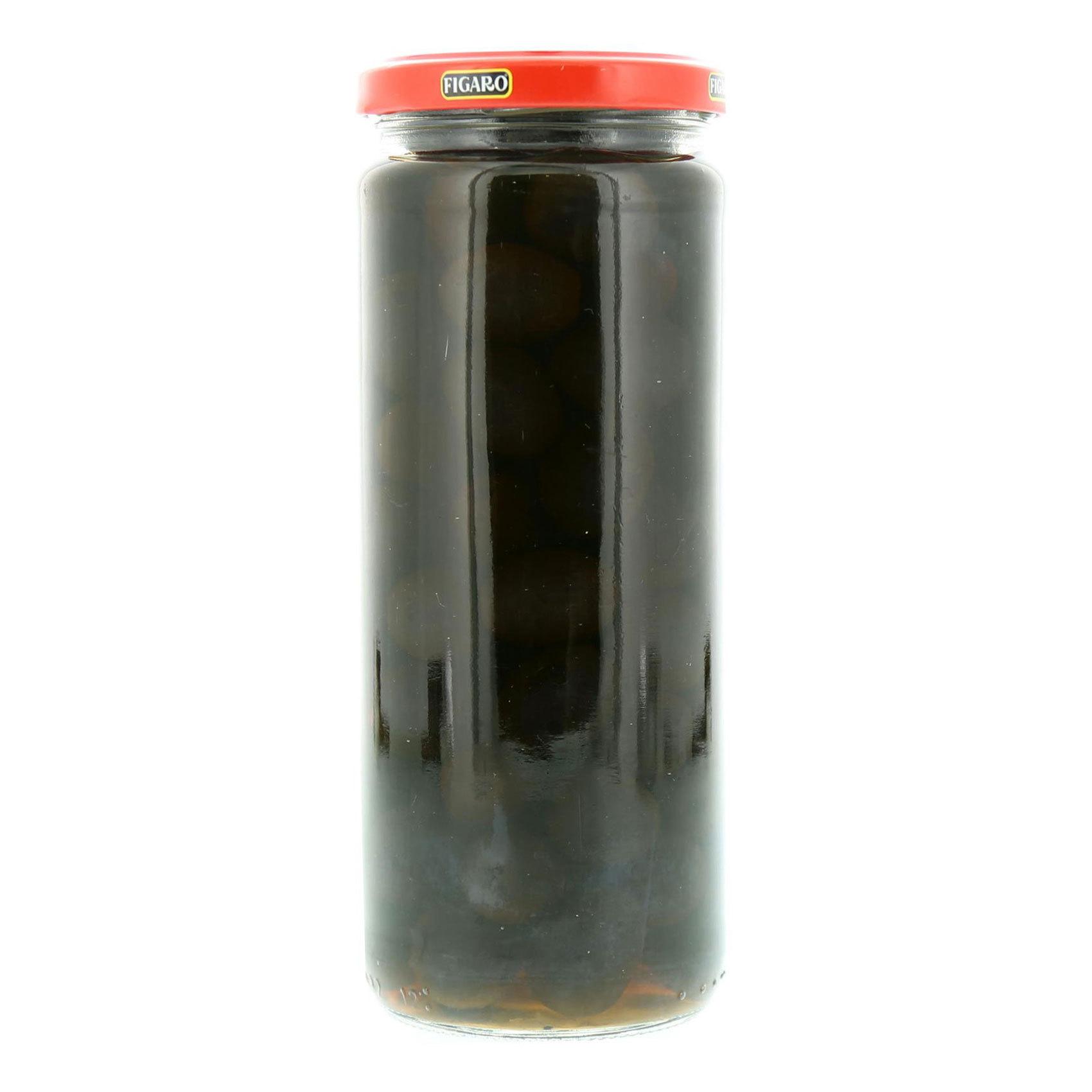 FIGARO PLAIN BLACK OLIVES 285GR