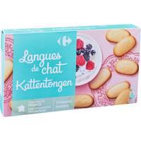 Carrefour Langue De Chat 200g