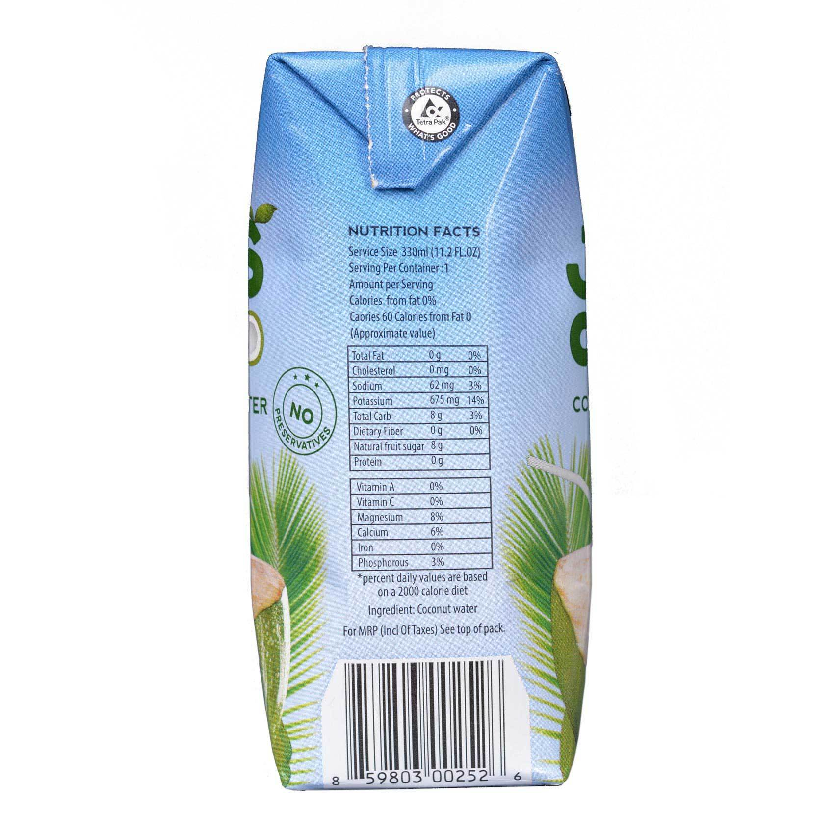JUSCOCO COCONUT WATER 330ML
