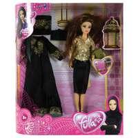 Fulla Deluxe Abaya- Nada Golden Girl