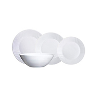 Luminarc Harena Dinner Plate Set Of 19 Pieces