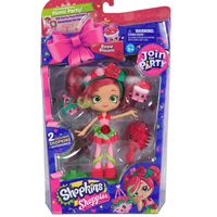Shopkins Shoppies Party W1 Themed Dolls - Rosie Bloom