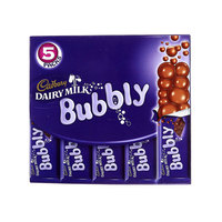 Cadbury Dairy Milk Bubbly Chocolate 28gx5