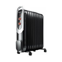 Campomatic Oil Radiator OFR11B BLack