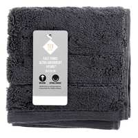 TEX Face Towel 30x30 Anthracite