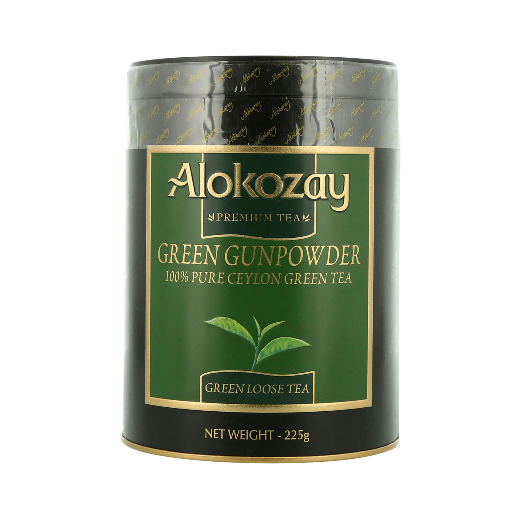 ALOKOZAY TIN TEA FBOP 225G
