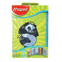 Maped Pencil Case School Kit Assorted