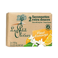 Le Petit Olivier Soap Orange 100GR  X2
