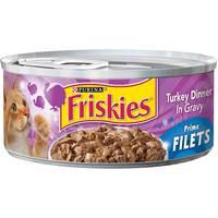 Purina Friskies Prime Filets Turkey Wet Cat Food 156 g