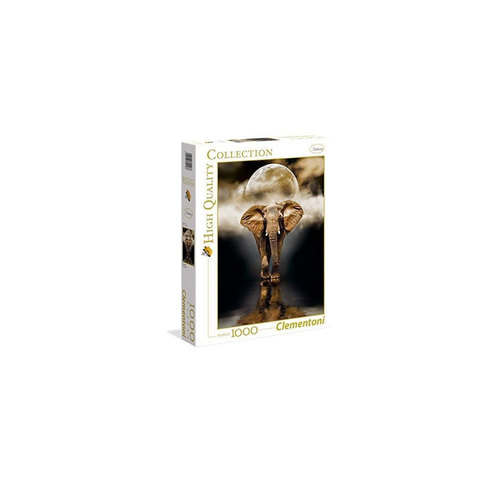 Clementoni-Puzzle-The-Elephant-1000-Pieces