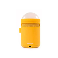 Remax Bluetooth Speaker Lamp Yellow