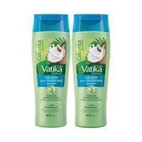 Vatika Shampoo Volume & Thick 400ML X2