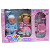 Dolls Lovely Twin Girl & Boy