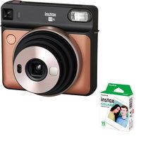Fujifilm Instax Square S6 B-Gold + Film