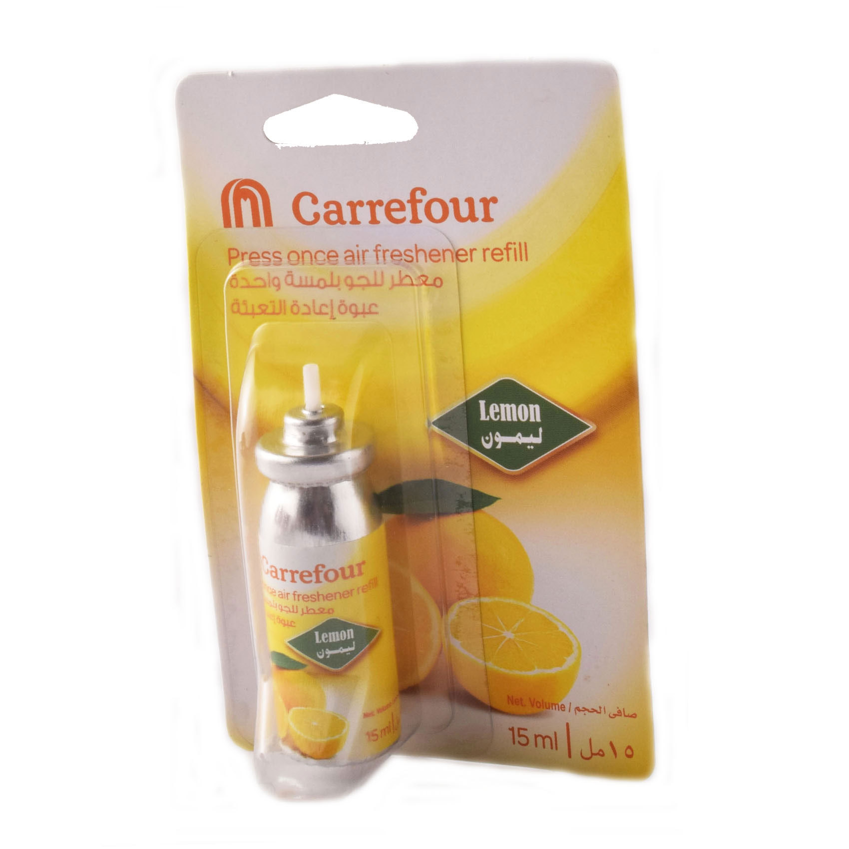CRF PRESS ONCE LEMON REFILL 15ML