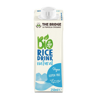 The Bridge Bio Rice Drnk Natural 250ml