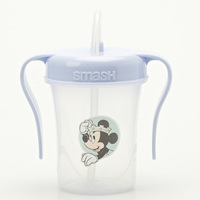 Disney Smash-Sipper Cup with Straw Mickey