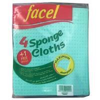 Facel 4 Sponge Cloths