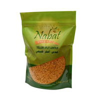 Nabat Lentil Yellow Split Organic 500GR
