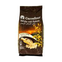 Carrefour white oat flakes pouch 500 g